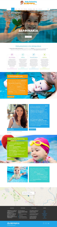 delfinakia website snapshot